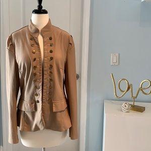 Jackets & Blazers - Military inspired women's jacket (XL) EUC